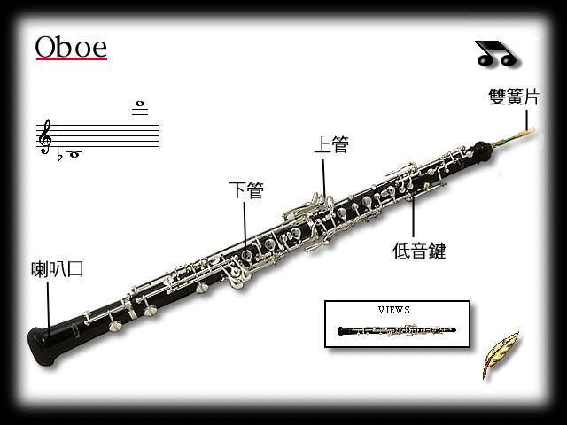 高音谱号乐器
